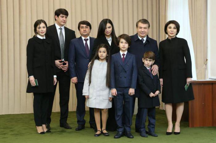 Мирзиёев Шавкат - Президент Узбекистана семья