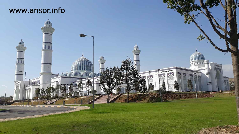 Сурати масҷиди калони шаҳри Душанбе