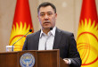 Kyrgyzstan's Prime Minister Japarov attends a session of parliament in Bishkek