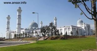 Большой мечеть города Душанбе